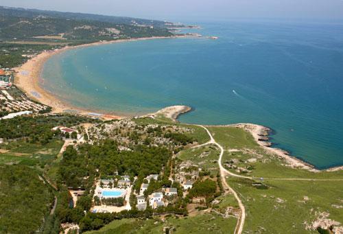 Estate al Villaggio Baia della Tufara, relax e indipendenza a Vieste